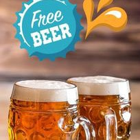FREE Beer at 5+ Selected Restaurants !