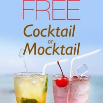 FREE Cocktail / Mocktail at 32+ Selected Restaurants !