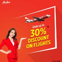 Upto 30% OFF on Air Asia Domestic Flights !