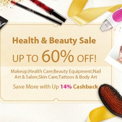 DHGate: Upto 60% OFF on Health & Beauty Sale