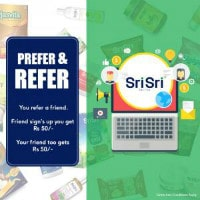 Flat ₹ 50 OFF on Referring Friends Orders