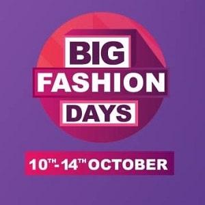Big Fashion Days: Upto 80% Off + Extra 10% Citibank Cashback + ₹200 PhonePe Cashback + 100% Mobikwik SuperCash