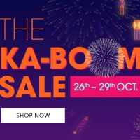 LIMITED : Flat 50% - 80% OFF on Ka-Boom Sale !