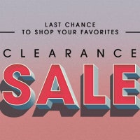 Flat 50% - 60% OFF on Top Clearance Sale Brands