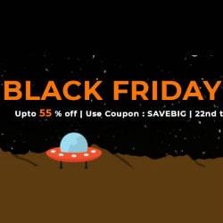 Flat 55% OFF on Black Friday Hosting Bonanza