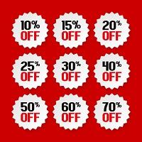Upto 40% OFF on Wide Range of Sales