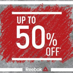 Reebok India: Flat 50% OFF on Sale Collection Orders