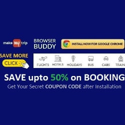 Make My Trip MMT: Upto 50% OFF on Bookings Site-Wide