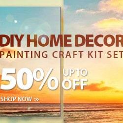Peggybuy: Upto 50% OFF on DIY Home Dècor Orders