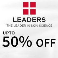 Upto 50% OFF on Leaders Orders