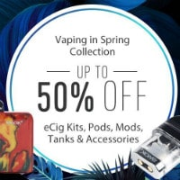 DHGate: Upto 50% OFF on Vaping Spring Collection