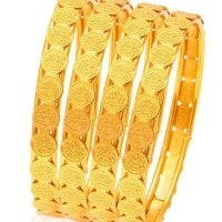 Upto 67% OFF on Gold-Plated Bangles Orders