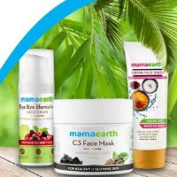 MamaEarth: Upto 40% OFF on Beauty Products Orders
