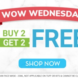 Buy 2 Get 2 FREE on WOW Wednesday's Orders
