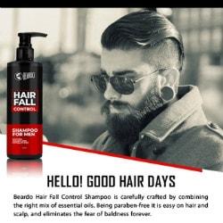 Beardo: Flat ₹ 350 on Hair Fall Control Shampoo for Men