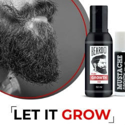 Flat 20% OFF on Beard Growth Combo