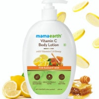 MamaEarth: Flat ₹ 399 on Vitamin C Body Lotion