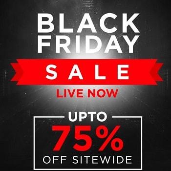 Black Friday Sale: Upto 75% Off