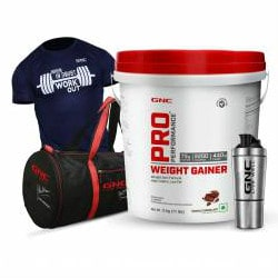 Flat 45% OFF on GNC Protein Gym & Fitness Kit