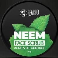 Beardo: Flat ₹ 350 on Neem Face Scrub (100g) Orders