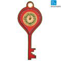 Get 50% off Key Shaped Warli Handpainted Clock Orders