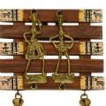 Get 32% off Dhokra And Warli Wall Hanging Ghungroo Brown Orders
