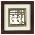 Get 23% off Handcrafted Tribal Metal Craft With Rosewood Frame Orders