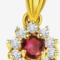 Get 50% off Classic Ruby Diamond Pendant Orders