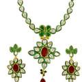 Get 18% off Floral Jodha Akbar Necklace Orders