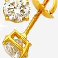 Get 25% off Solitaire Diamond Stud Earrings Orders