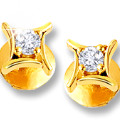 Get 33% off Diamond Earring Studs Orders