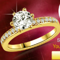 Get 50% off 0.52 cts Diamond Solitaire Wedding Ring Orders