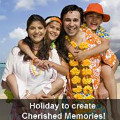 Get up to 50% off Memorable Holidays Bookings Orders