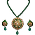 Get 50% off Jadtar Kundan Meenakari Jewellery Set Orders