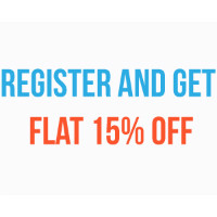 Flat 15% OFF on NEW Orders Site-Wide