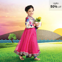 Upto 50% OFF on Girl's Ethnic Wear Orders