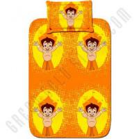 Get 33% off Single Bed Sheet - Orange Orders