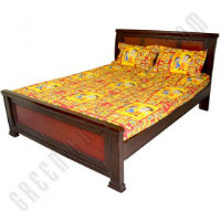 Get 37% off Double Bed Sheet - Red Orders