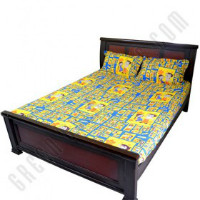 Get 37% off Double Bed Sheet - Blue Orders