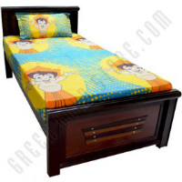 Get 33% off Single Bed Sheet - Turquoise Orders