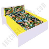 Get 50% off Chhota Bheem Double Bed Sheet - Yellow Orders