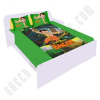 Get 50% off Chhota Bheem Double Bed Sheet - Green Orders