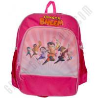 Get 15% off Chhota Bheem School Bag - Dark Pink Orders