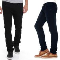 Get 73% off Stylox Set of 2 Men's Denim Jeans Orders
