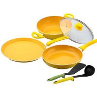 Get 62% off Wonderchef Da Vinci Non-Stick Cookware Set Orders