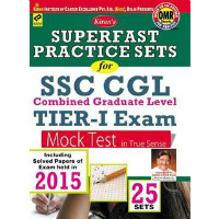 Get 30% off Kirans Superfast Practice Sets For SSC CGL Tier-I Exam Mock Test (With OMR Sheet) (Paperback) Orders