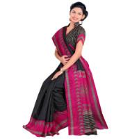 Get 47% off Rashmi Creation Geometric Printed Bhagalpuri Silk Saree Orders
