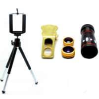 Get 24% off 4-in-1 Lens Kit with 10x Zoom & Universal Mobile Tripod Orders