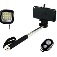 Get 41% off Selfie Stick with Night Light Flash & Wireless Clicker Orders