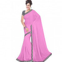 Get up to 65% off New Arrivals Women's Plain Sarees Orders